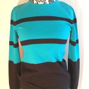 Ralph Lauren Striped Soft Cotton Sweater NEW